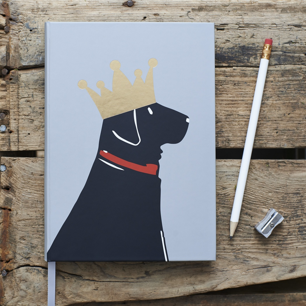 Black Labrador Notebook , Mischievous Mutts > Notebooks , Black Labrador