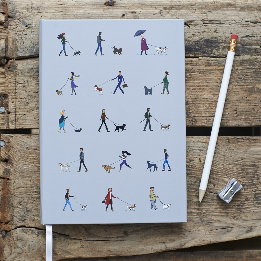 Dog Walker's Notebook , Mischievous Mutts > Notebooks ,