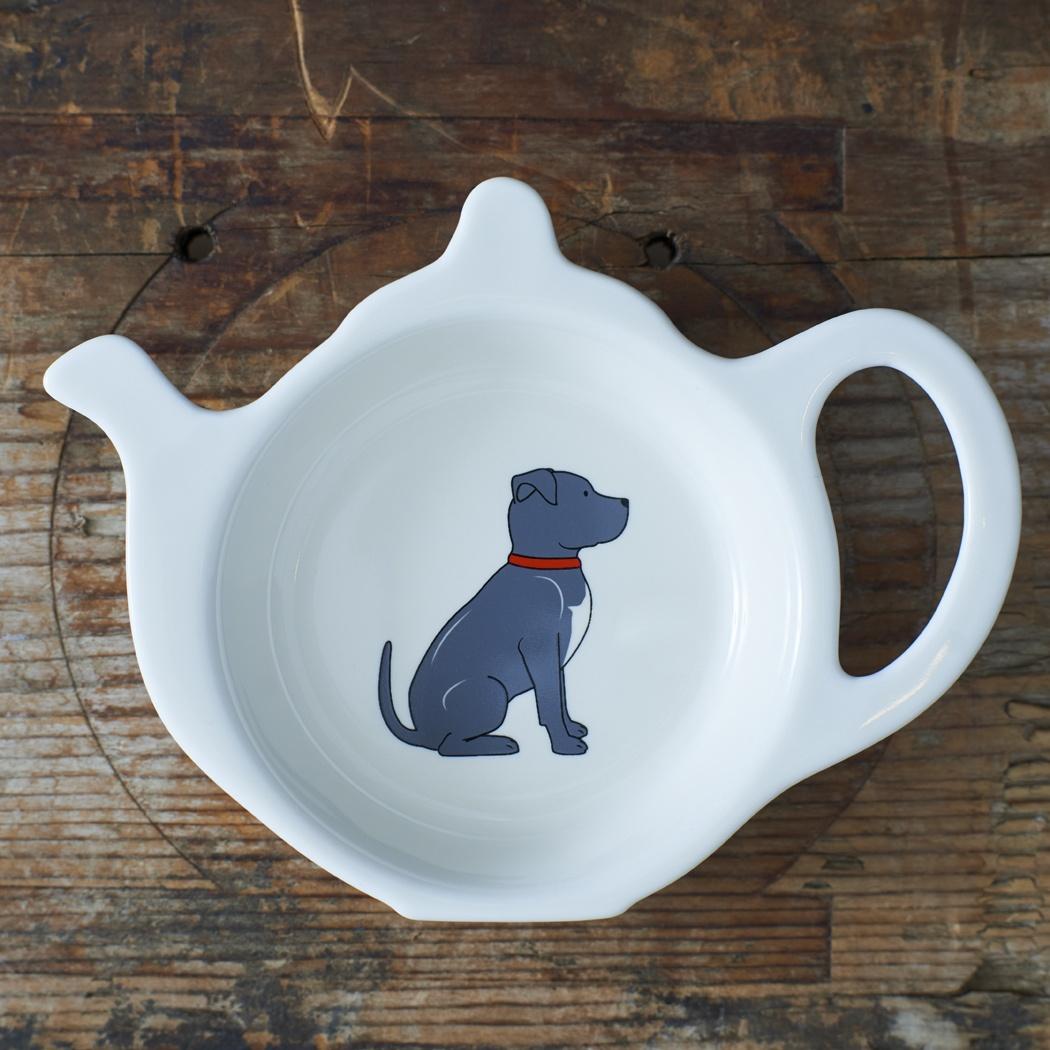 Staffie Teabag Dish , Mischievous Mutts > Teabag Dishes , Staffie