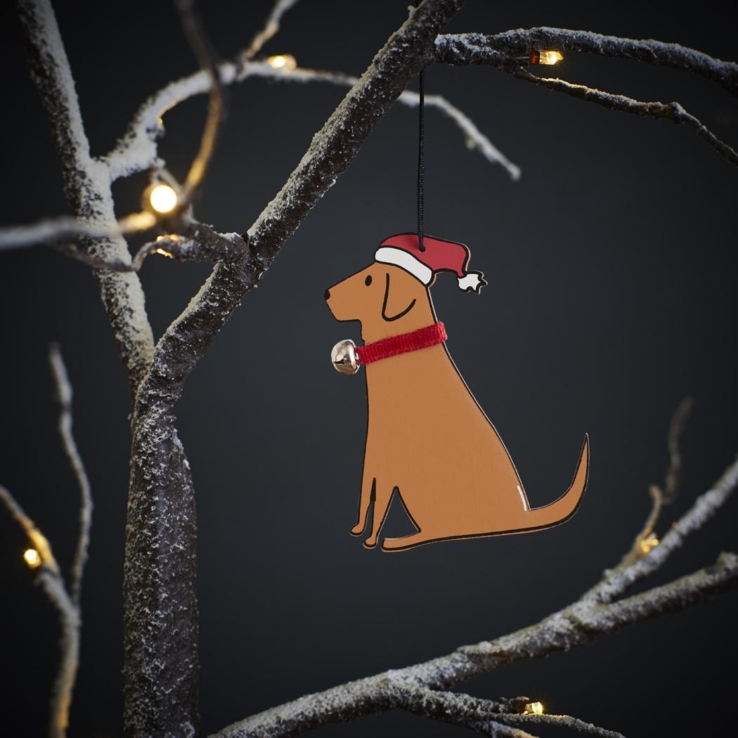 Fox Red Labrador Christmas Tree Decoration , Mischievous Mutts > Christmas Decorations , Fox Red Labrador