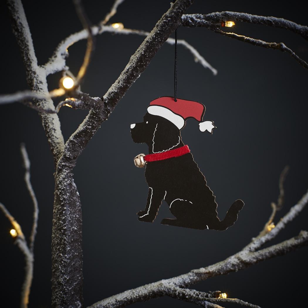 Cockapoo / Labradoodle (black) Christmas Decoration , Mischievous Mutts > Christmas Decorations , Cockapoo