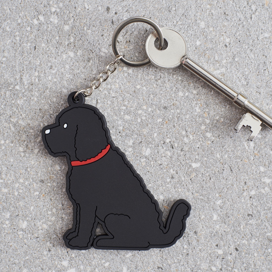 Black Cockapoo / Labradoodle Key Ring , Mischievous Mutts > Keyrings , Cockapoo
