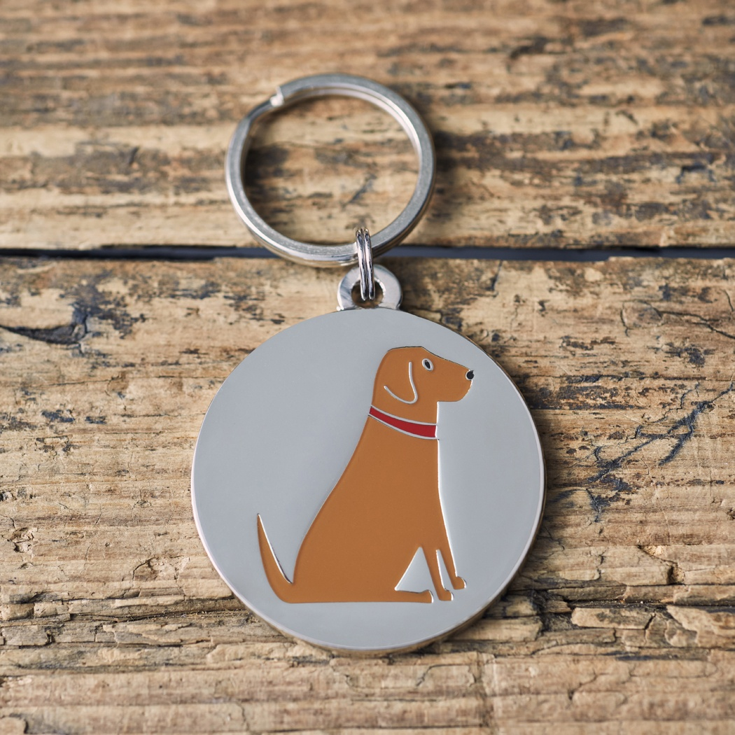 Fox Red Labrador Dog ID Name Tag , Mischievous Mutts > Dog Tags , Fox Red Labrador