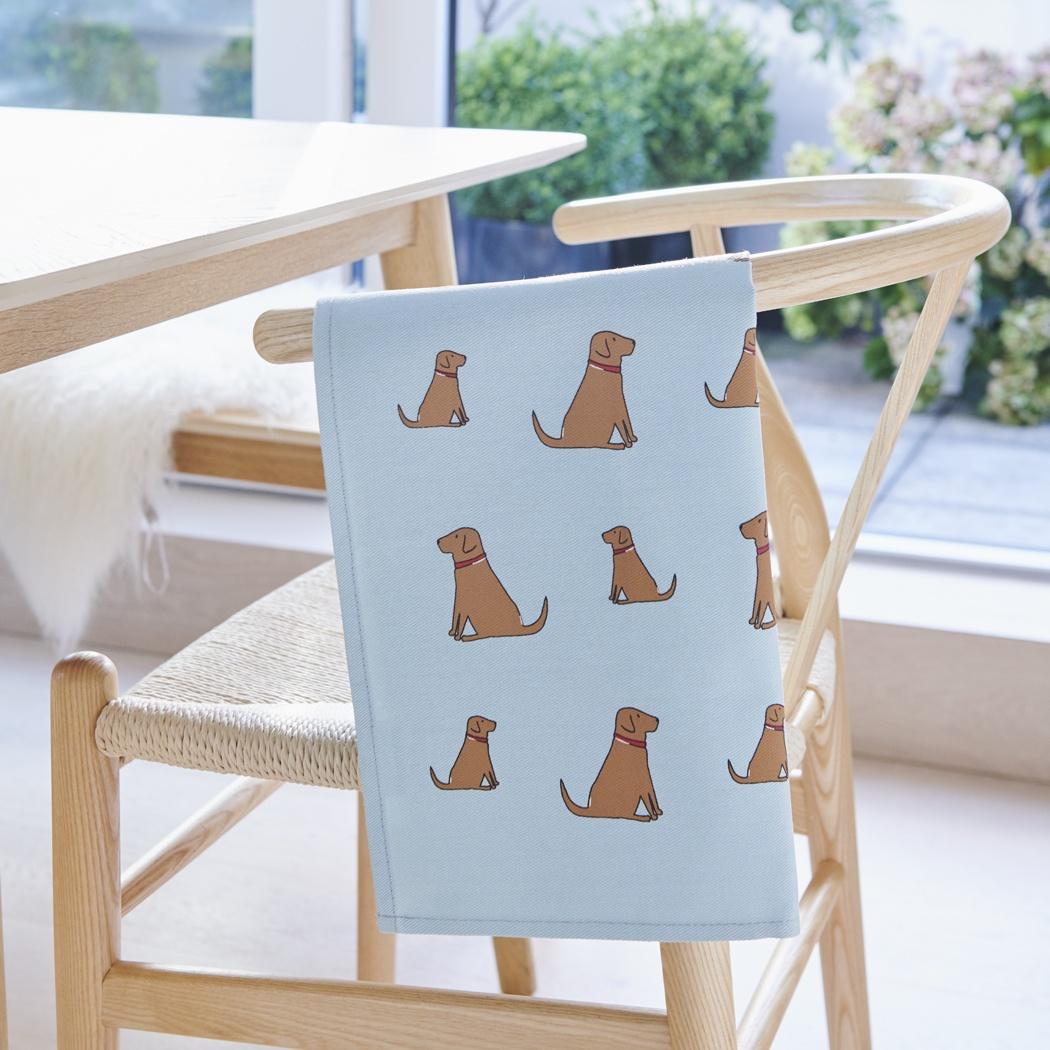 Fox Red Labrador Tea Towel , Mischievous Mutts > Tea Towels , Fox Red Labrador