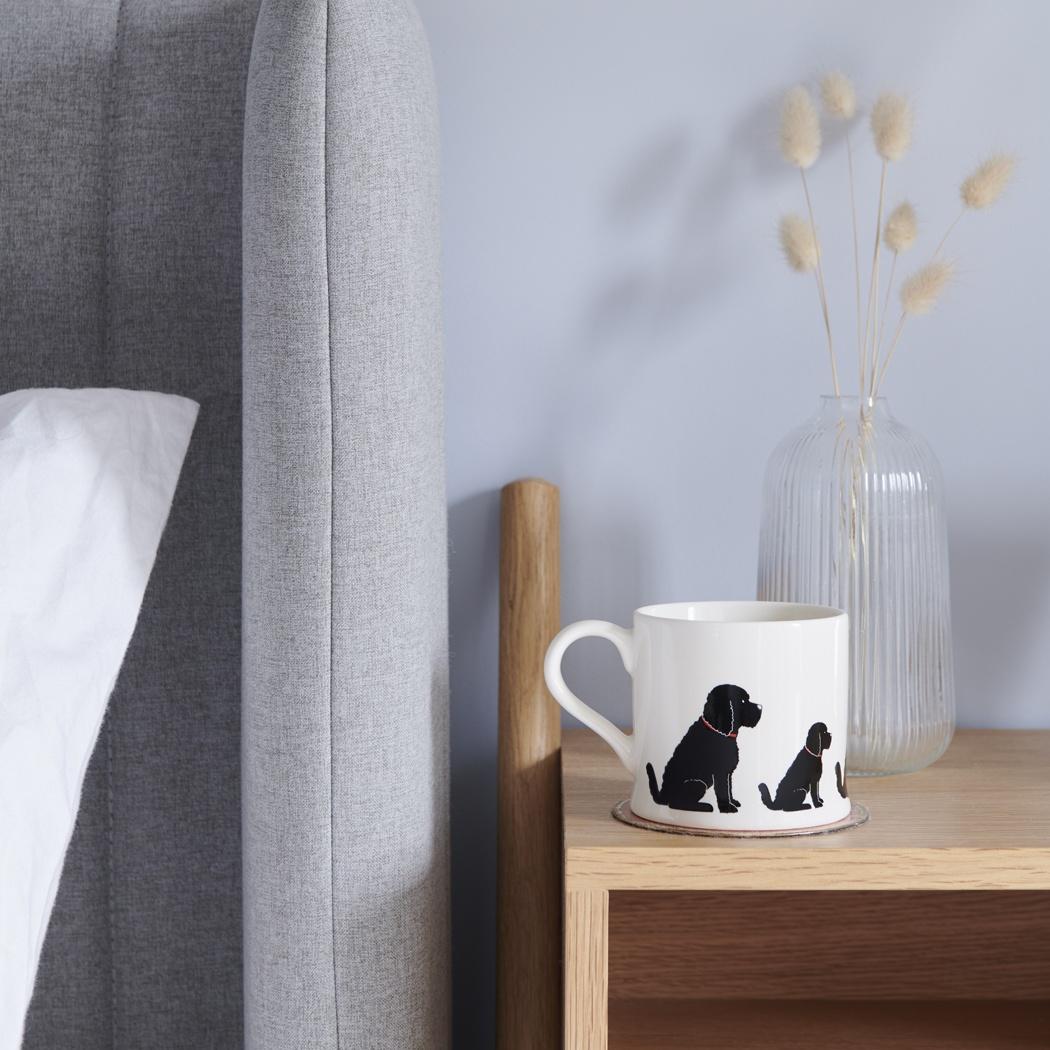 Cockapoo / Labradoodle (black) mug , Mischievous Mutts > Mugs , Cockapoo