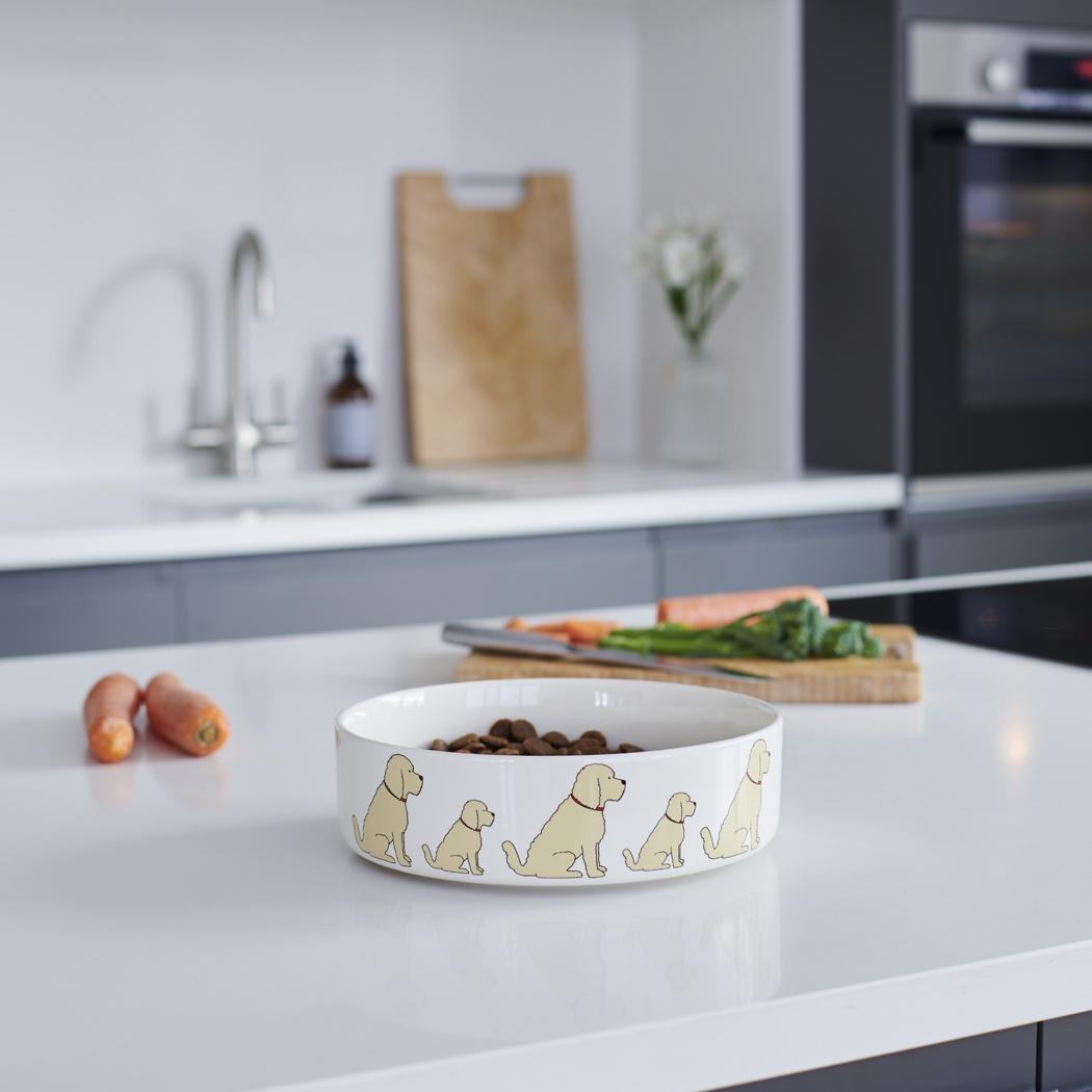 Cockapoo / Labradoodle (Apricot) Dog Bowl , Mischievous Mutts > Dog bowls , Cockapoo