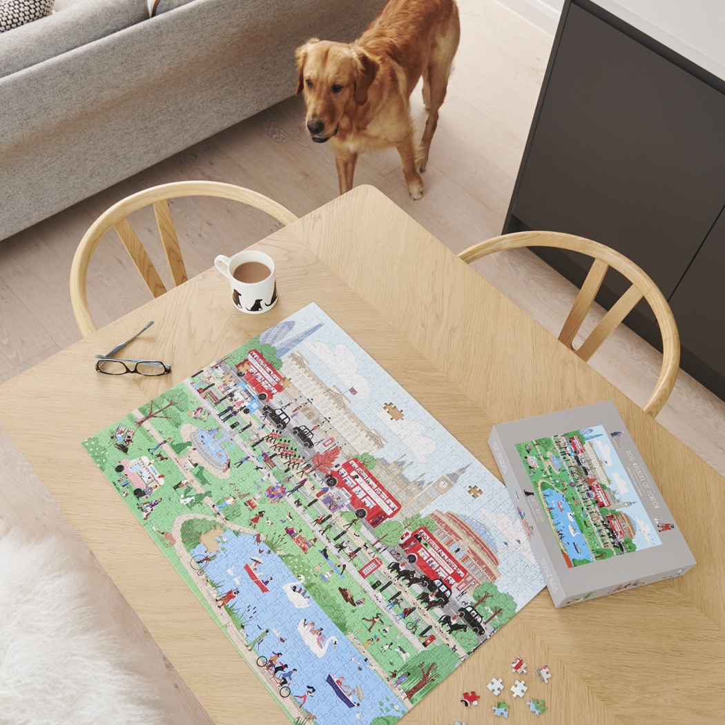 Dog Walkers of London Jigsaw Puzzle , Mischievous Mutts > Jigsaw Puzzles ,
