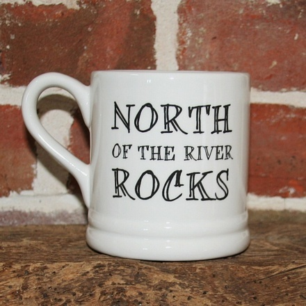 North of the river Rocks Mug