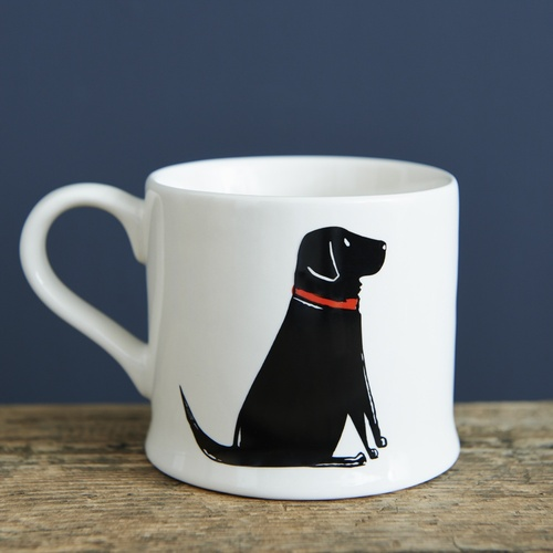 Single Black Labrador Mug