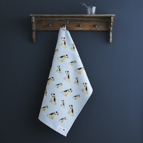 Border Terrier Tea Towel