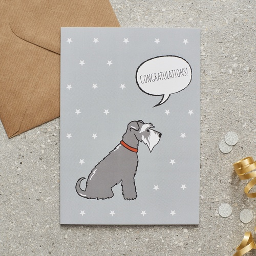 congratulations cards - Dog Greeting Cards