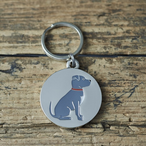Staffie Dog ID Name Tag