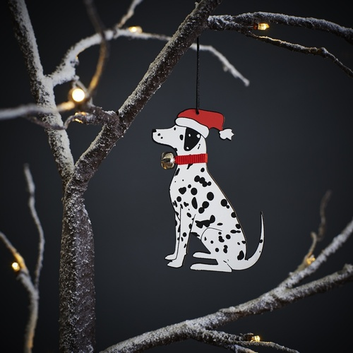 Dalmatian Dog Christmas Tree Decoration