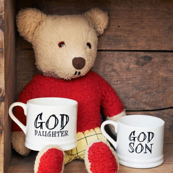 Godchild - Goddaughter / God-daughter and Godson / God-son mugs