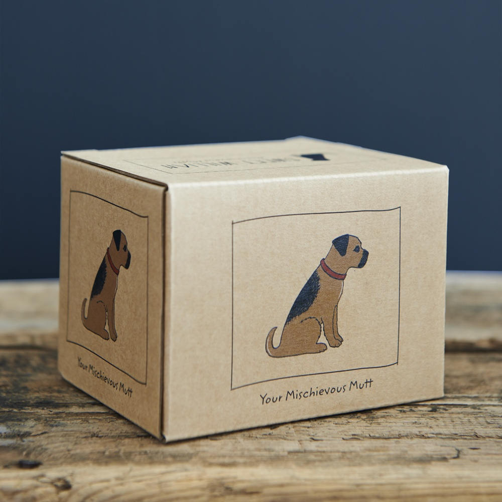 Border Terrier Mug Gift Box