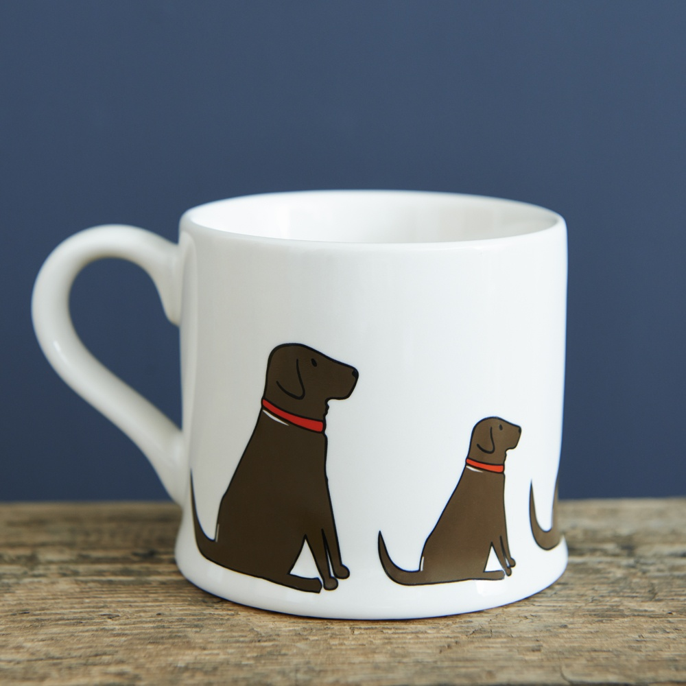 Chocolate Labrador Lab Mug