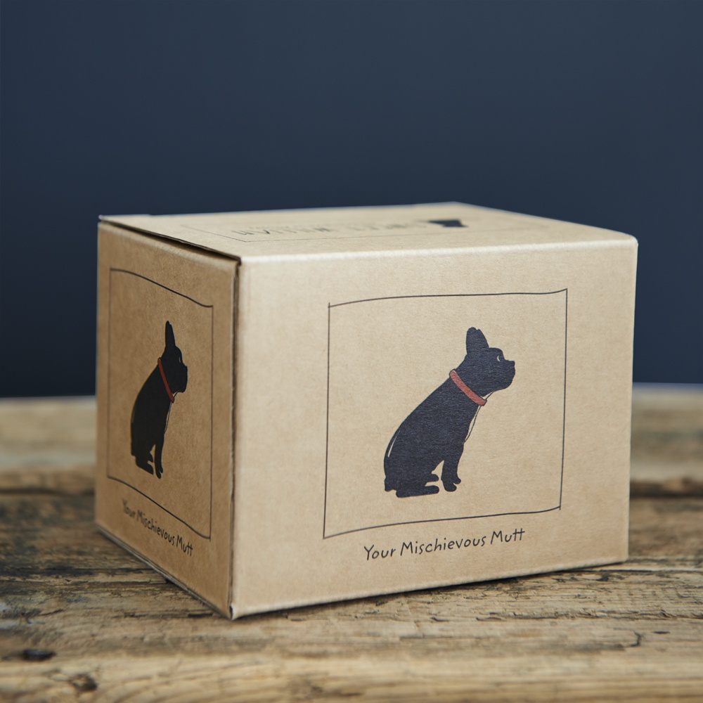 French Bulldog mug gift box from Sweet William
