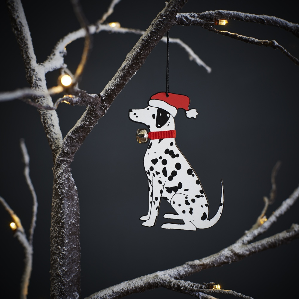 Dalmatian Christmas Tree Decoration / Ornament