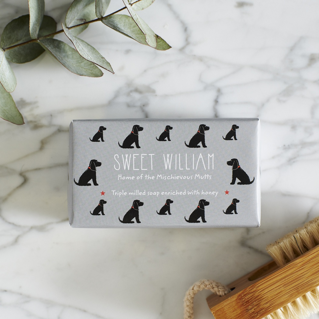 Cocker Spaniel (Black) Triple Milled soap
