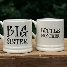 43cce51ae04 Brother & sister mugs (large) from www.sweetwilliamdesigns.com